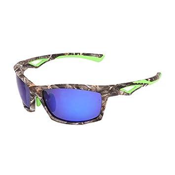 Mjia sunglasses Gafas Deportivas Hombre,Gafas de Sol polarizadas,Camuflaje Deportes Gafas de Pesca polarizadas al Aire Libre, Verde Camuflaje 1: Amazon.es: ...