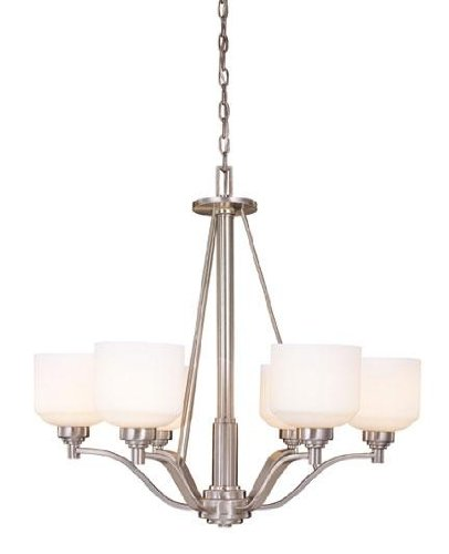 Savoy House 1-4664-6-69 Wilmont 6 Light Chandelier Pewter 6 - E Bulbs