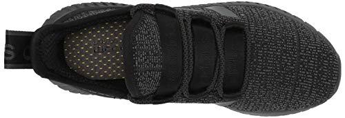adidas Men's Kaptur Sneaker, Black Grey, 8 M US
