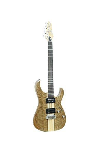ivy ISSY-200NA Strat Solid-Body Electric Guitar Natural [並行輸入品]   B07FDN37VL