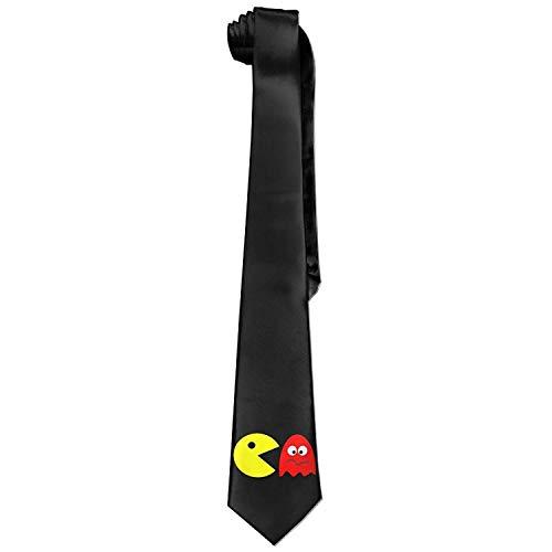 JOMYY Men's Pacman Necktie Ties]()