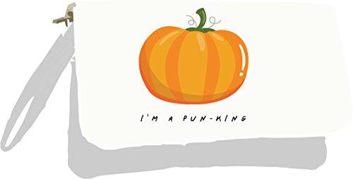 Pumpkin I'm Silver Fruit Pun Pun A Bag King and Metallic Jokes Vegetable Clutch Gold w4q4t6