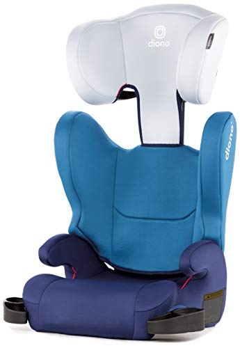 31E52zLFt2L - Diono Cambria 2 Latch, 2-in-1 Belt Positioning Booster Seat, High-Back To Backless Booster XL Space And Room To Grow, 8 Years 1 Booster Seat, Ultimate Safety And Protection, Blue