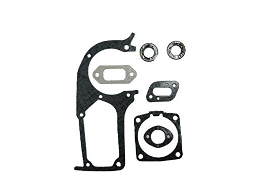 EngineRun Husqvarna Gasket Kit Oil Seals Set fits for 394 394XP 395 395XP Chainsaws OEM 503473701 Ships from The USA 503 47 37-01