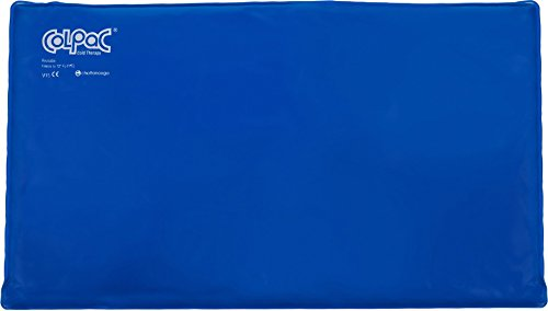 Chattanooga ColPac - Blue Vinyl - Oversize Large Ice Pack - 11 in x 21 in (28 cm x 53 -