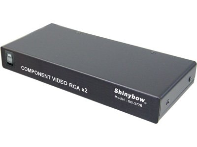 (1:2 Shinybow Component Video Distribution Amplifier)
