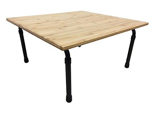 Zora zr25bct altura ajustable mesa solución de bajo costo, color café