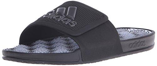 adidas Performance Herren Adissage 2 M Logo Sandale Schwarz / Nacht Metallic / Schwarz