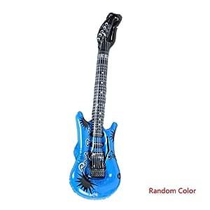 Meisijia Decoración del Juguete Color Aleatorio Micrófono Guitarra ...