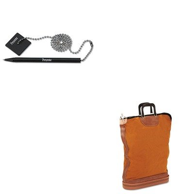 KITPMC04645PMC05057 - Value Kit - Pm Company Regulation Post Office Security Mail Bag (PMC04645) and Pm Company Preventa Standard Ballpoint Counter Pen (PMC05057) ()