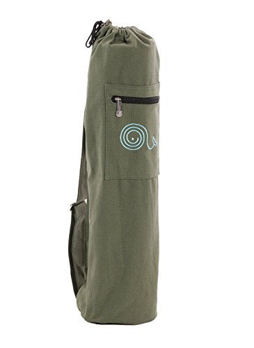 Canvas yoga mat bag/mat carrier for men and women