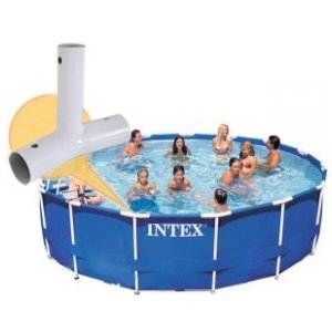 - Intex 14, 15, 16 & 18 Ft Swimming Pool Frame Connection Tee Fitting
