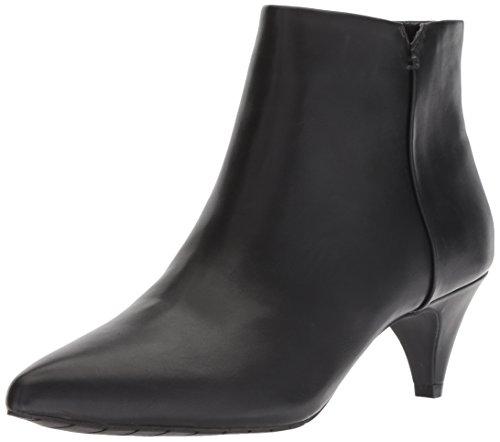 Kenneth Cole REACTION Women's Kick Bit Kitten Heel Bootie Ankle Boot Black