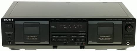 B00001XE0A Sony TC-WE435 Dual Cassette Deck (Discontinued by Manufacturer) 31E5AJV5NTL.
