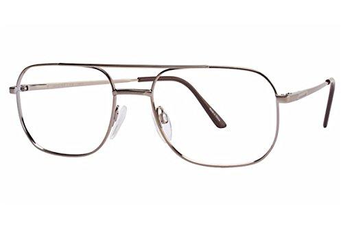 Aristar By Charmant Men's Eyeglasses AR6700 AR/6700 035 Brown Optical Frame 55mm