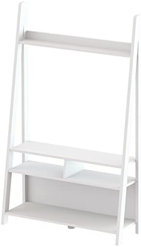 Tiva Escalera ENT Mueble para televisor, Color Blanco: Amazon.es: Hogar