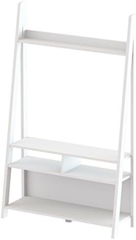 Tiva Escalera ENT Mueble para televisor, Color Blanco: Amazon.es: Hogar