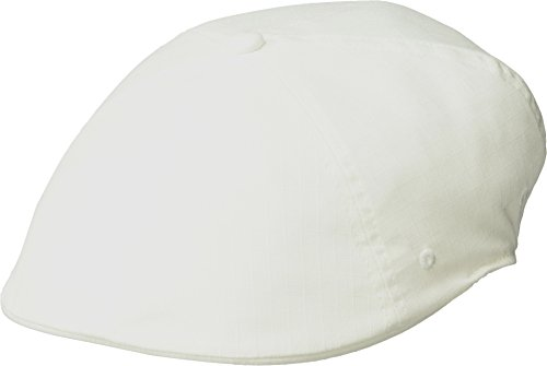 Kangol Ivy Cap - Kangol Men's Ripstop 504 Ivy Cap, White, L/XL