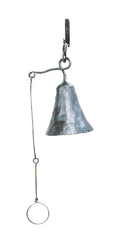 achla designs wrought iron bell small achla designs wrought iron