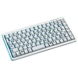 Cherry Compact keyboard G84-4100, light grey, FR - Teclado (light grey, FR, USB+PS/2, Gris, 0 - 50 °C, 282 x 132 x 27 mm, CE, VDE/ÜG (EN60950), cURus, FCC DoC Cl. B, VCCI Cl. 2, BSMI, C-Tick)