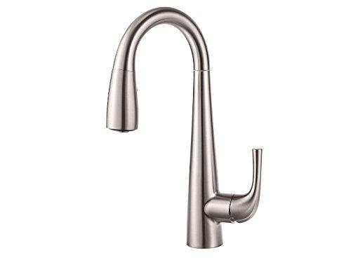 Bar Prep Faucet (Pfister GT72-ALSS Alea 1-Handle Bar/Prep Kitchen Faucet, Stainless Steel)