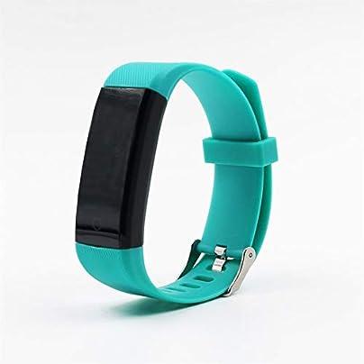Daqin Smart Wristband Fitness Tracker Health Monitor Heart Rate Blood Pressure Waterproof Smart Bracelet For Men Women Smartband Watch Color Green Estimated Price -