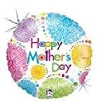 Single Source Party Supplies - 18'' Mother's Day Zinna Flowers Mylar Foil Balloon