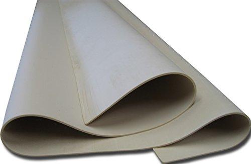Gum Rubber Vacuum Forming Bladder / Membrane 48'' x 12'' x 1/16'' Thick