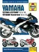 Haynes Yamaha YZF750R & YZF750SP 1993-1998 , YZF000R Thunderace 1996-2000