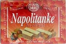 Napolitanke Hazelnut Wafers 330g