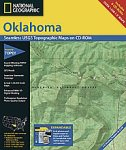 National Geographic TOPO! Oklahoma Map CD-ROM (Windows)
