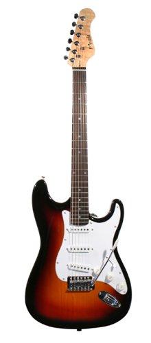 Rockburn ST1-SB - Guitarra eléctrica (tipo sunburst): Amazon.es: Instrumentos musicales