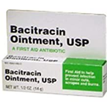 Bacitracin First aid Antibiotic Ointment, USP - 1/2 Oz
