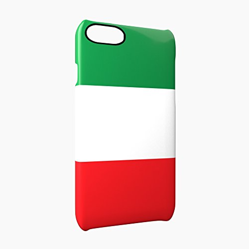Flag of Italy Glossy Hard Snap-On Protective iPhone 7 Case Cover