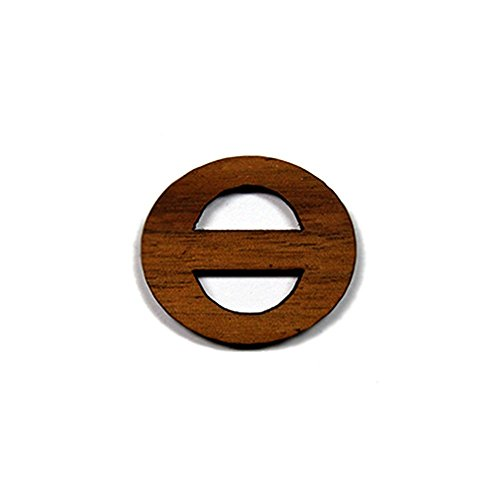 Theta Greek Letter Made of Wood for Paddle Mascot Board (1.5 Inch)