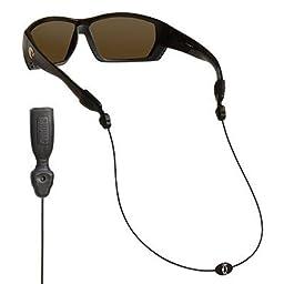 Chums Orbiter Eyewear Retainer, Black (2 Pack)