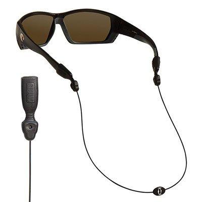 Chums Orbiter Eyewear Retainer, Black (2 Pack) by Chums