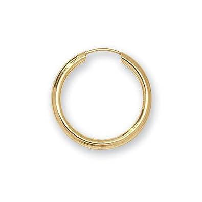 9ct Yellow Gold 20MM Sleeper Earrings tPGE1MjG