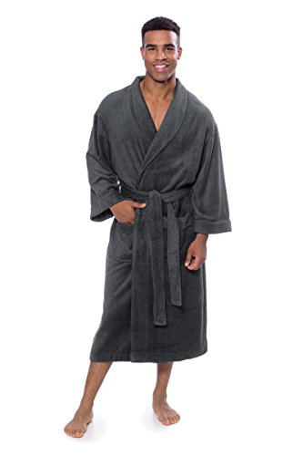 Texere Mens Terry Cloth Bathrobe