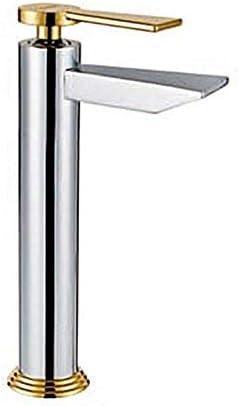 Yadianna 蛇口現代の浴室の洗面台の蛇口調整水温蛇口を使用し毎日、耐久性に優れました