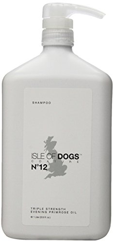 Isle of Dogs Coature No. 12 Veterinary Grade Evening Primrose Oil Dog Shampoo for itchy or Sensitive Skin, 1 liter ()
