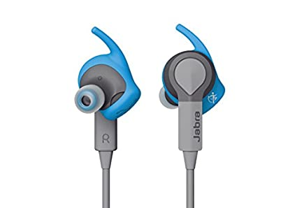 Jabra SPORT COACH (Blue) Wireless Bluetooth Earbuds for Cross-Training - Retail Packaging, One Size/Blue In-Ear Headphones at amazon