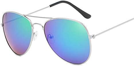ASLD Lunettes de soleil argent miroir petites lunettes de soleil femme mâle pilote lunettes de soleil femmes hommes nuances Top lunettes de mode