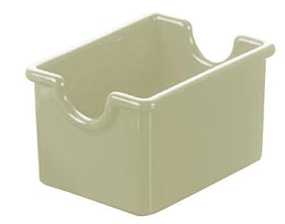 American Metalcraft White Plastic Sugar Packet Holder