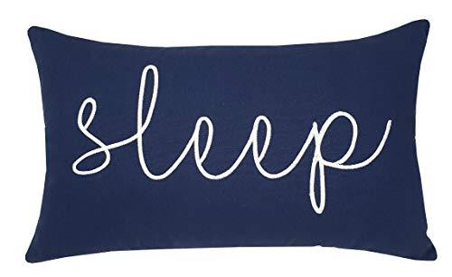 EURASIA DECOR DecorHouzz Sleep Sentiment Embroidered Pillow Cover Cushion Cover Pillow Cases Throw Pillow Decorative Pillow Wedding Birthday 12