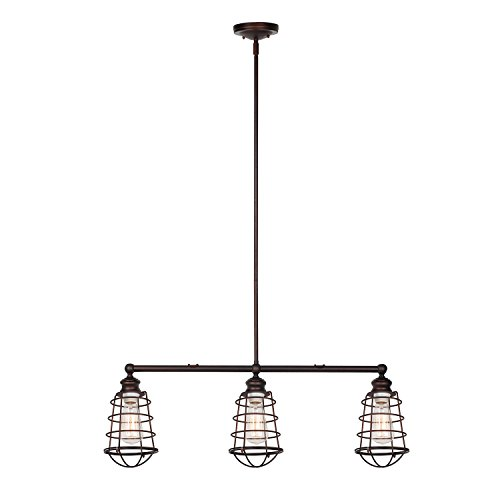 3 Bulb Pendant Light Fixture - 2