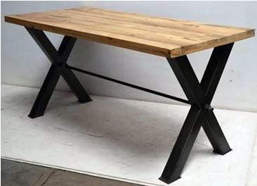GELUSA N Mesa de Comedor, mesas de Madera de Mango, Muebles de ...