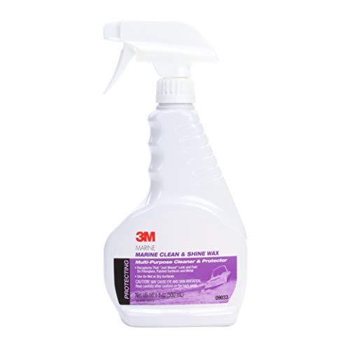 3M 3004.7792 Marine Clean & Shine Wax (09033) - for Boats and RVs - 16.9 Ounces, 16.9 Fluid_Ounces