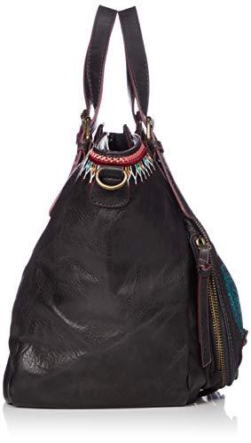 Negro siara sac rotterdam Noir Desigual 18waxp37 noir qYZP6n