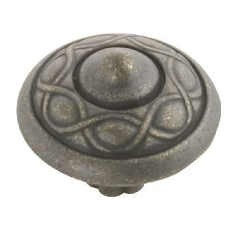 Belwith Products P3174-WOA Vienna Knob, Windover Antique
